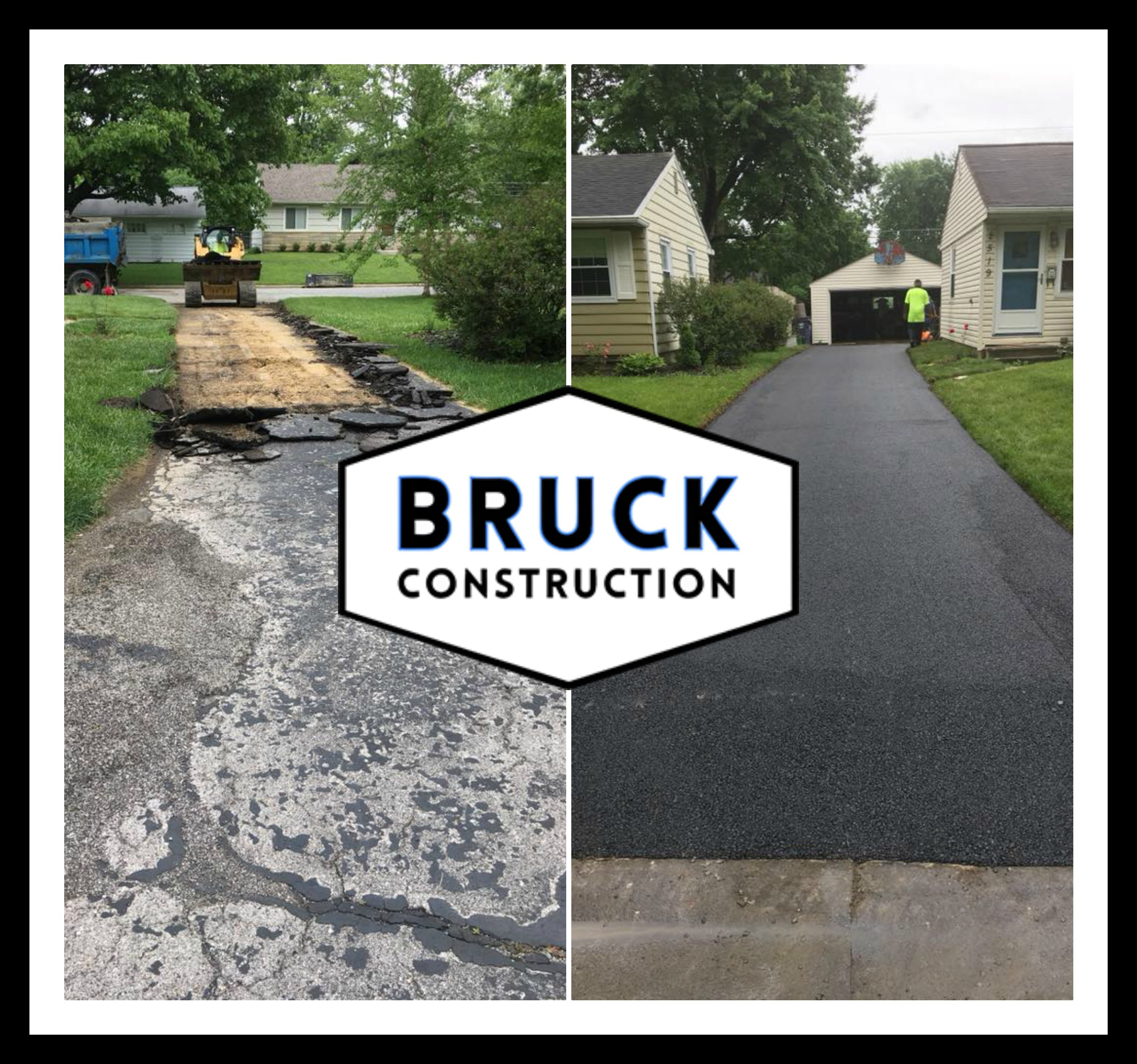 Bruck Construction - Before and After work